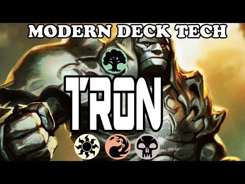 Modern TRON Deck Tech! Green/Red or Green/Black? Future of TIER 1 Tron?