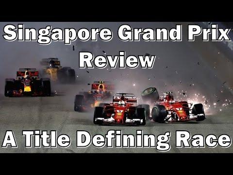 Singapore Grand Prix Review: A Crash To Define The Championship
