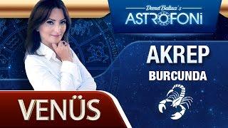 Venüs Akrep Burcunda