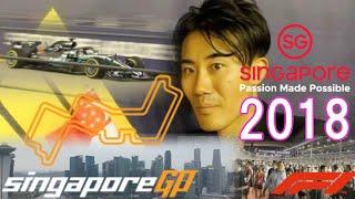F1 2018 Singapore Grand Prix PIT GRANDSTAND Experience