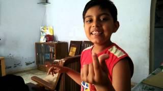 "AaravAaryan #09 How to do ""Chutki bajana"", snapping your fingers to make noise"