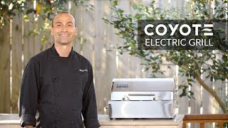 Coyote Portable Electric Grill Review | BBQGuys.com
