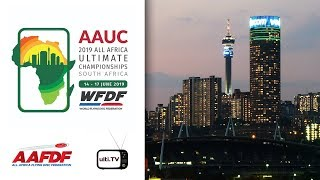 2019 AAUC Final - UCT Flying Tigers, RSA v Ghost Ultimate, RSA