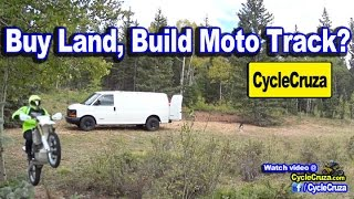 Buy Land and Build Motorcycle Track? | MotoVlog(Buying land and build your very own motorcycle track, good idea? Links to get my Gear, Mods and Cameras below: Get My Action Camera CHEAP here: ..., 2016-09-27T10:00:02.000Z)