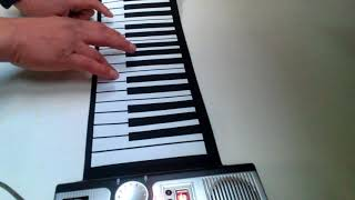 Flexible Piano 61 Key MIDI Keyboard Unboxing and Review