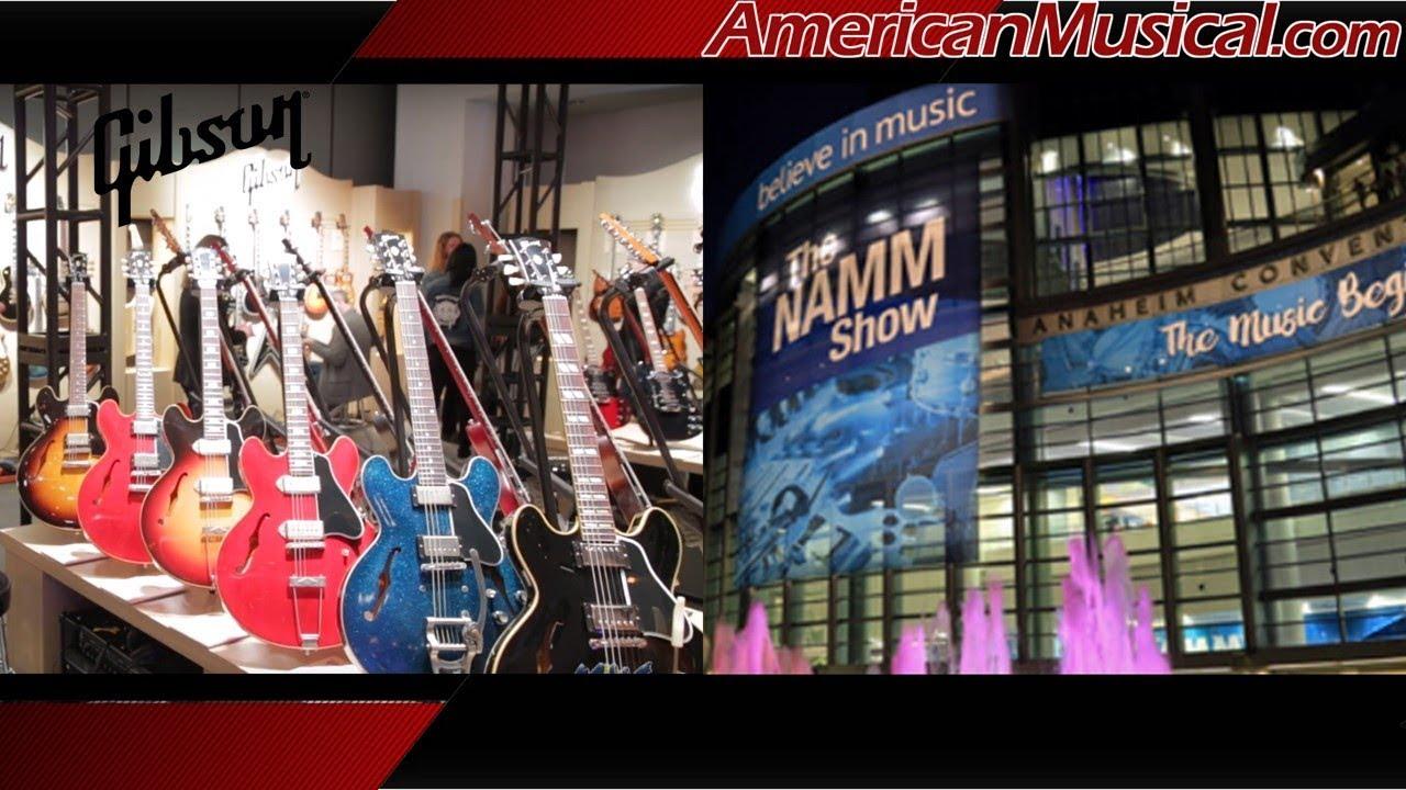 NAMM 2019 Gibson ES Guitars - American Musical Supply