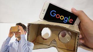 How To Make Goggle Cardboard VR   DIY Cardboard VR