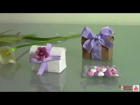 Detalles de boda chocolates y bombones