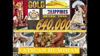 VATICAN HUMIRAM NG GINTO SA PILIPNAS WORTH 640, 000 METRIC TONS NOONG 1939 FOR WORLD WAR?