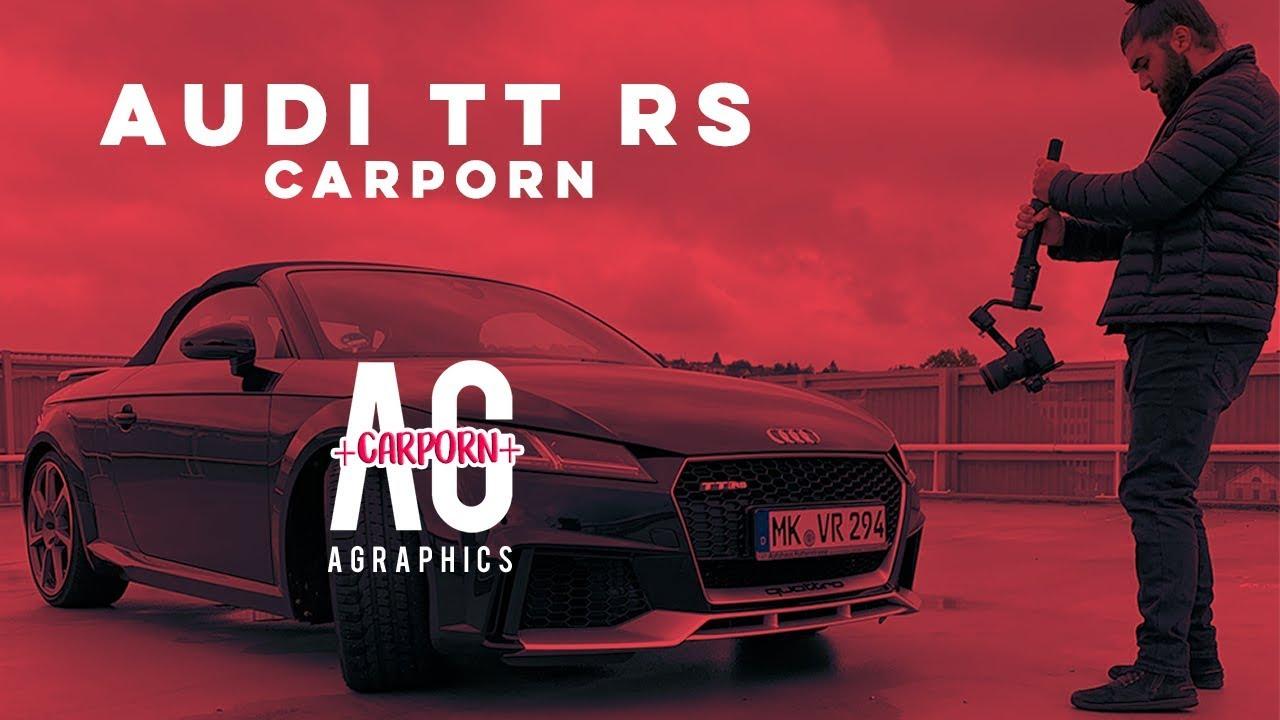 Audi TT RS CARPORN | VOLME RENT - die Autovermietung