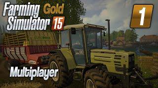 Coś tu mało do roboty :D #1 - Farming Simulator 2015 GOLD