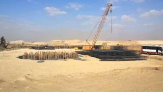 شاهد نقل مياه ترعة السلام أسفل قناة السويس الجديدة