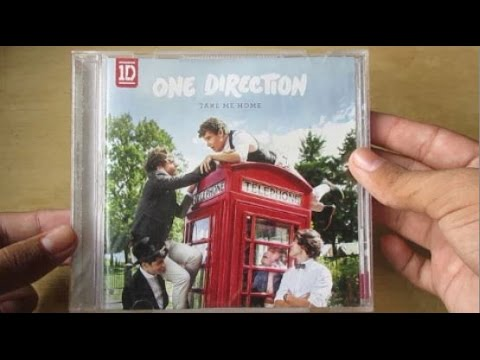 Take Me Home - One Direction (Album Deluxe Edition) - Unboxing CD En Español