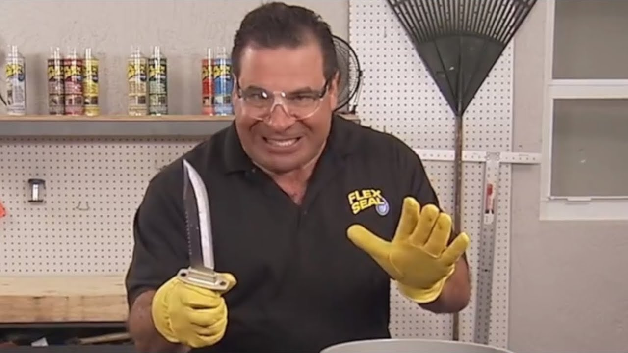 Flex Seal Fails To Bucket Phil Swift Says Works