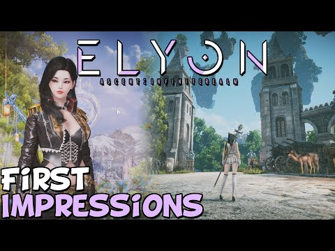 """Elyon MMORPG First Impressions """"Is It Worth Playing?"""""""
