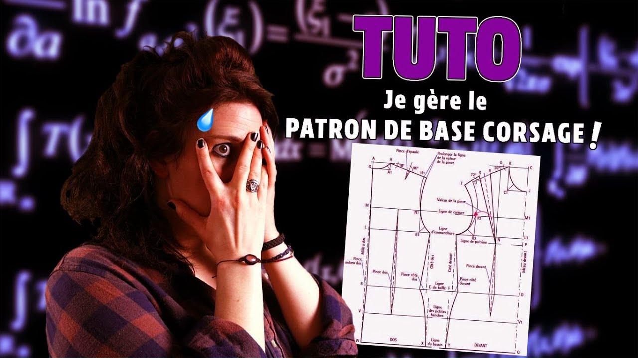 Download Tuto - Comment réaliser son patron de base corsage !