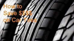 How to get the best deal when buying tires for your car