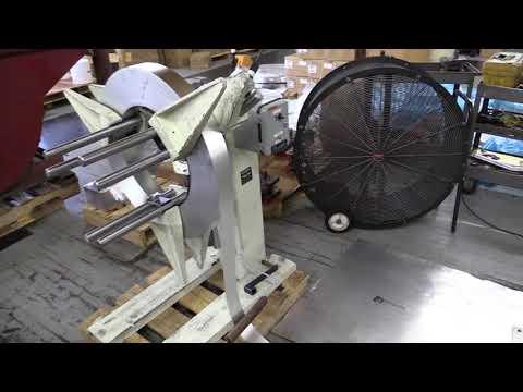 Uncoilers Decoilers Rewind Reels Single Spindle