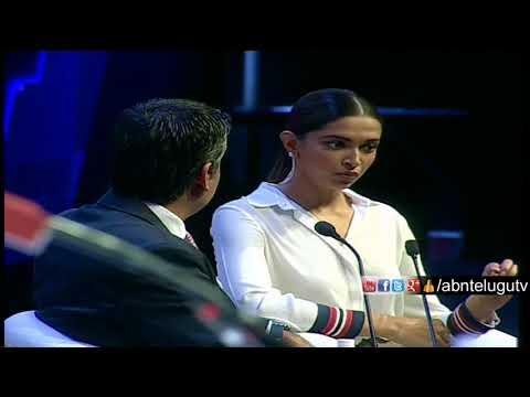 Actress Deepika Padukone inspires IT giants with mental health speech | Minister KTR