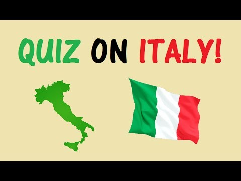 Hard Quiz on Geography of Italy! - Testing Your Neurons
