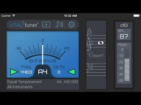 VITALtuner™ App Preview (best tuner app)