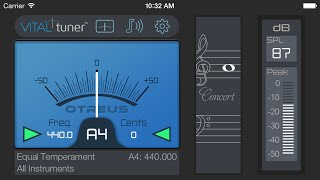 VITALtuner™ App Preview (best tuner app)