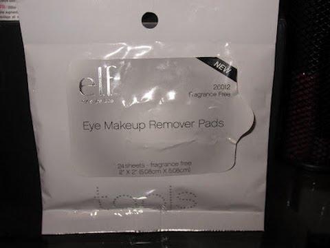 ELF Eye Makeup Remover Pads - Yay or Nay? - YouTube