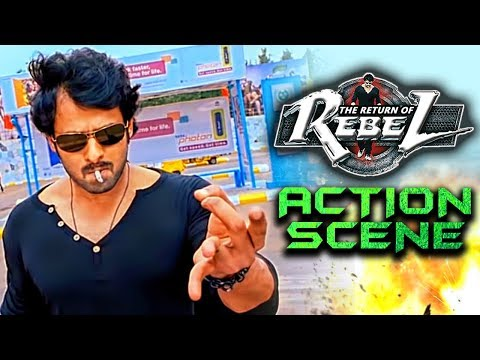 The Return of Rebel (Rebel) Best Fight Scene | South Indian Hindi Dubbed Best Action Scenes