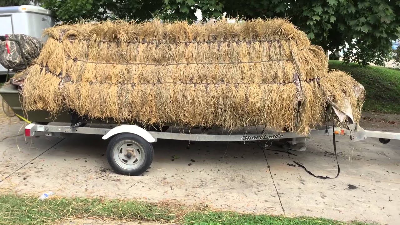 boat hunting blinds blind the build duck htm ultimate perogue