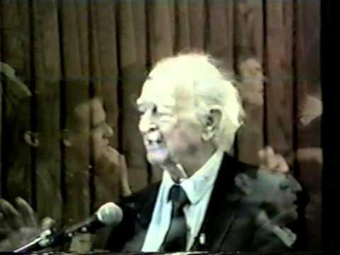 Linus Pauling Lecture Symposium on Adjuvant Nutrition-Tulsa-Oklahoma-Nov 6+7 1992