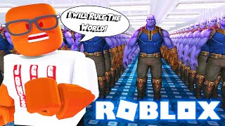 THANOS SUPER VILLAIN Factory Tycoon In Roblox😈