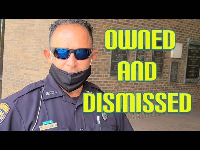 Fake cop gets owned and does the walk of shame & @CNN gets owned  1st amendment audit fail!!