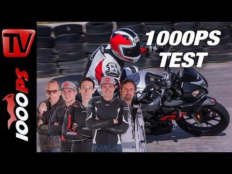 Aprilia Tuono 125  Test 2018 - Grosser 125er Vergleich