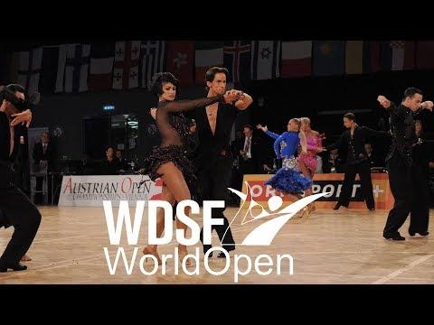 Yusupov - Kharina, RUS | 2017 W Open Latin Vienna SF S  | DanceSport Total