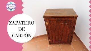 ZAPATERO DE CARTÓN - MUEBLE ORGANIZADOR