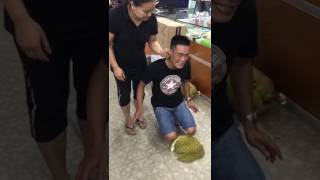 Chinese wife punishes her husband