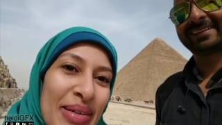 My friend from Canada visits Egypt for the first time!