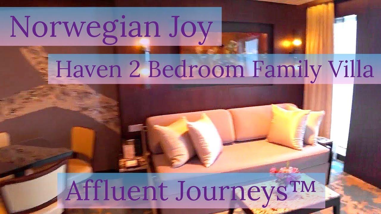 Norwegian Joy 2 Bedroom Family Villa Youtube