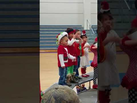 Skylar and classmates 1st Christmas Show at Trion Elementary School!(5)