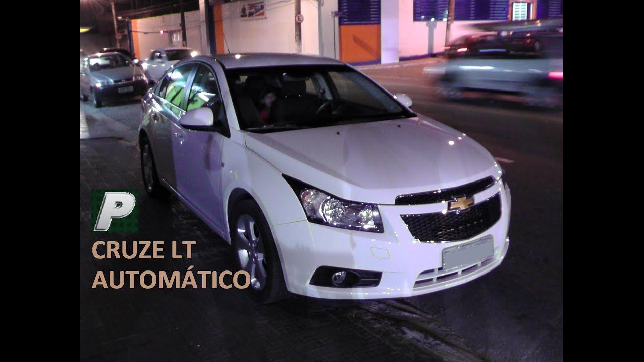 Caçador de Carros: Chevrolet Cruze LT automático 2013 EM