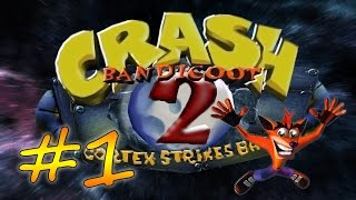 Прохождение Crash Bandicoot 2: Cortex Strikes Back (PS) #1 - Джунгли