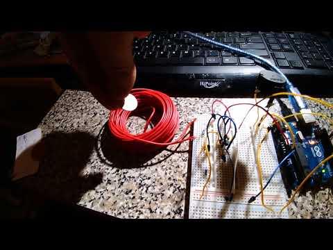 arduino uno metal detector test 1