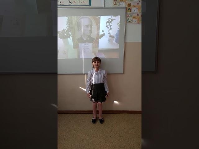 Изображение предпросмотра прочтения – ЛилияПермякова читает произведение «Есть в осени первоначальной...» Ф.И.Тютчева
