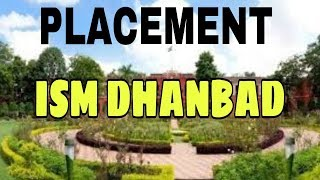 Placement at ism dhanbad.