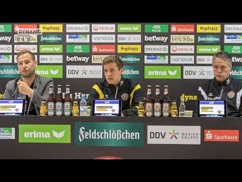 28. Spieltag | EBS - SGD | Pressekonferenz vor dem Spiel