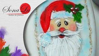 Papai Noel em Sabonete por Sonalupinturas