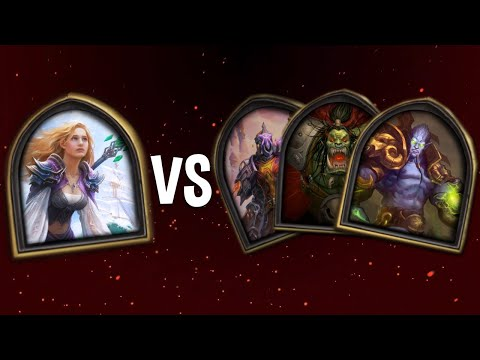 The Full Story of Jaina Told in Hearthstone (featuring Thrall, Archimonde, Grom, Antonidas and more)