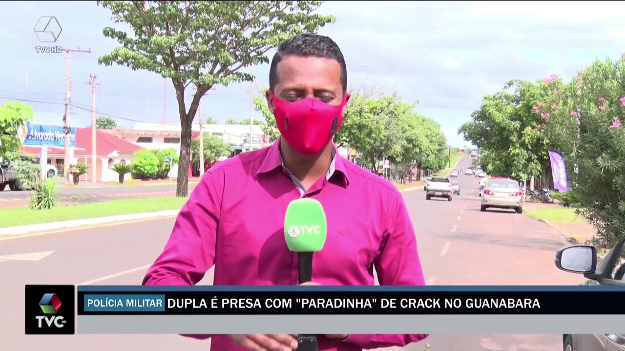 POLÍCIA CIVIL E MILITAR PRENDE TRÊS POR TRÁFICO DE DROGAS