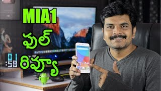 Xiaomi MiA1 Android One Review with Pros amp Cons ll in telugu ll