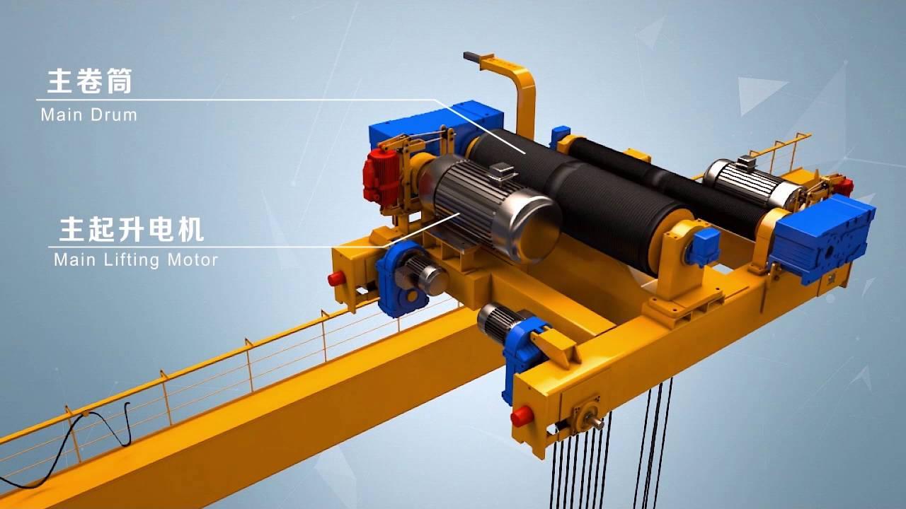 32telectric Double Girder Gantry Crane Youtube